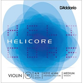 Helicore H310 Violin String Set 4/4 Scale Medium Tension