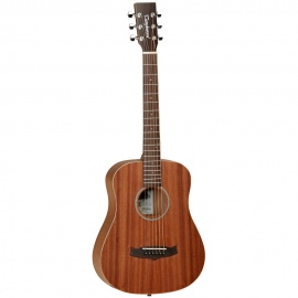 TW2T LH Travel sized left handed acoustic guitar