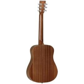 TW2SE Travel sized semi-acoutic guitar