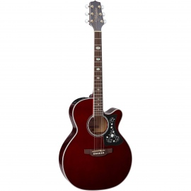 GN75CE Wine Red Acoustic Guitar