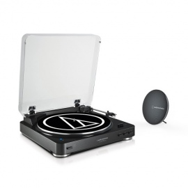 AT-LP60SPBT-BK Bluetooth Turntable with free wireless speaker