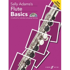 Sally Adam's Flute Basics with CD