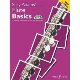 Sally Adam's Flute Basics with CD