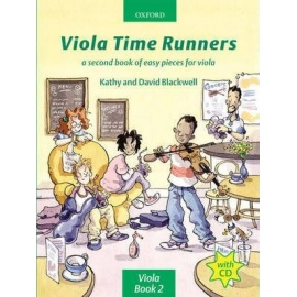 Viola Time Runners (Bk&CD)