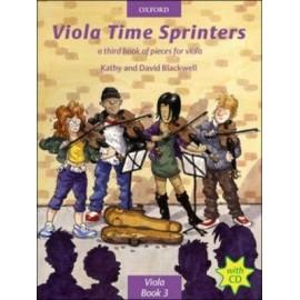 Viola Time Sprinters (Bk&CD)