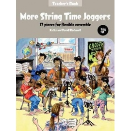 More String Time Joggers Teacher's Book (Bk&CD)
