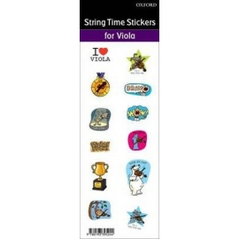 String Time Stickers (Viola)