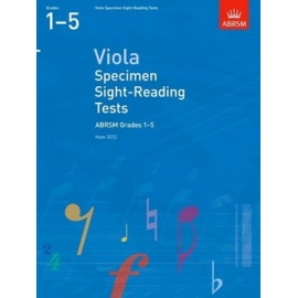 ABRSM Viola Specimen Sight-Reading Tests Grades 1-5