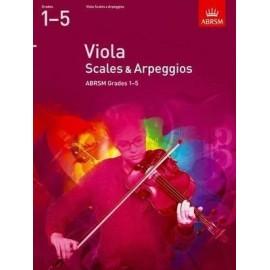 ABRSM Viola Scales & Arpeggios Grades 1-5