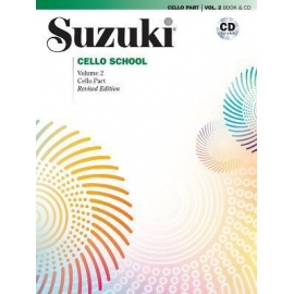 Suzuki Cello Part Volume 2 (Bk&CD)