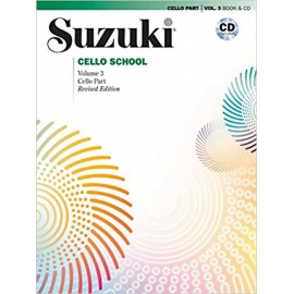 Suzuki Cello Part Volume 3 (Bk&CD)