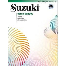 Suzuki Cello Part Volume 3 (Bk&CD)