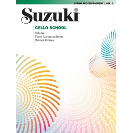 Suzuki Cello Piano Accompaniment Volume 1