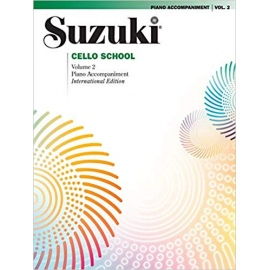 Suzuki Cello Piano Accompaniment Volume 2