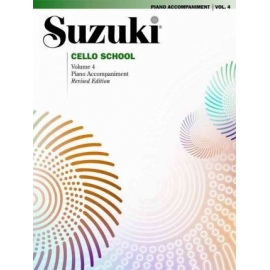 Suzuki Cello Piano Accompaniment Volume 4
