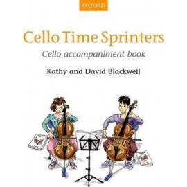 Cello Time Sprinters Cello Accompaniment
