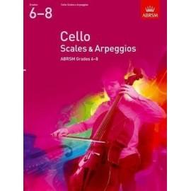 ABRSM Cello Scales & Arpeggios Grades 6-8