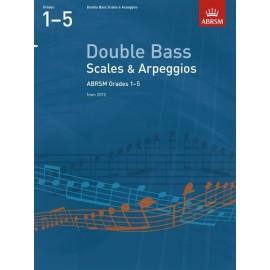 ABRSM Double Bass Scales & Apreggios Grades 1-5
