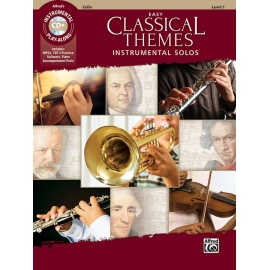 Instrumental Play-Along Easy Classical Themes Level 1 (Cello)