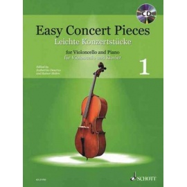 Easy Concert Pieces 1 (Cello)