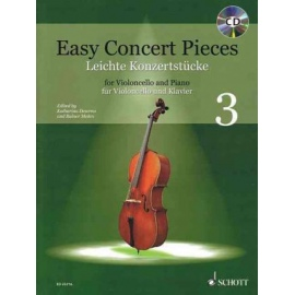 Easy Concert Pieces 3 (Cello)