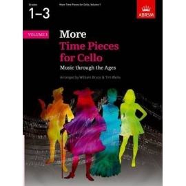 More Time Pieces For Cello Volume 1 Grades 1-3