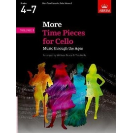 More Time Pieces For Cello Volume 2 Grades 4-7