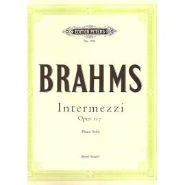 Intermezzi Op. 117 Piano Solo: Peters Edition