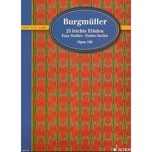 Burgmüller - 25 Easy Studies Op. 100: Schott Piano Classics