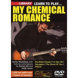 Lick Library: Learn To Play My Chemical Romance 2 DVD Set
