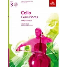 ABRSM Cello Exam Pieces Grade 3 2020-2023 (CD Edition)