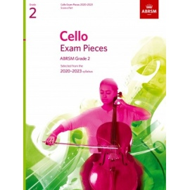 ABRSM Cello Exam Pieces Grade 2 2020-2023 (Book Only Edition)