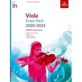 ABRSM Viola Exam Pack Initial Grade 2020-2023