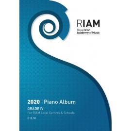 Royal Irish Academy Piano Album 2020 Grade 4