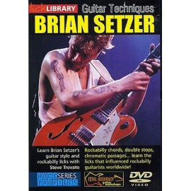 Lick Library: Brian Setzer Guitar Techniques