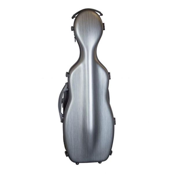 VNPC3BK Violin Polycarbonate Gourd Hardcase