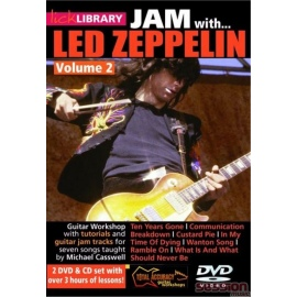 Lick Library: Jam With Led Zeppelin Vol 2