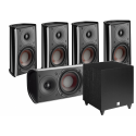 Fazon Mikro 5.1 System With C8D Subwoofer
