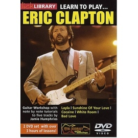 Lick Library: Learn To Play Eric Clapton 2 DVD Set