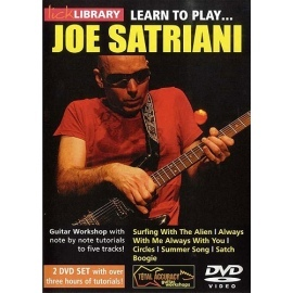 Lick Library: Learn To Play Joe Satriani 2 DVD Set