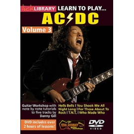 Lick Library: Learn To Play ACDC Vol 3