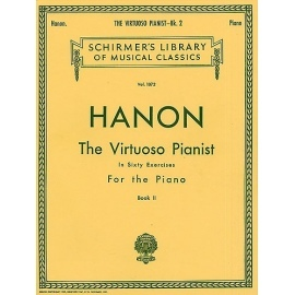 Hanon: The Virtuoso Pianist in 60 Exercises For Piano Book 2