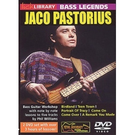 Lick Library: Bass Legends Jaco Pastorius 2 DVD Set