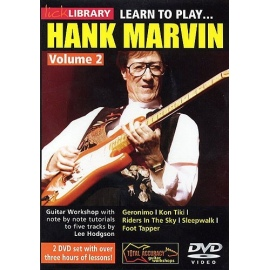 Lick Library: Learn To Play Hank Marvin Vol 2