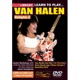 Lick Library: Learn To Play Van Halen Vol 2