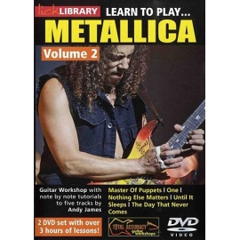 Lick Library: Learn To Play Metallica Vol 2