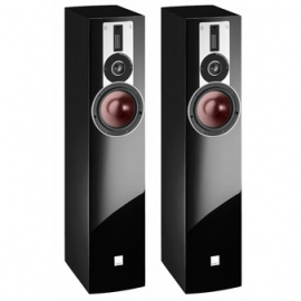 Dali Rubicon 5 Floor Standing Speakers - Walnut