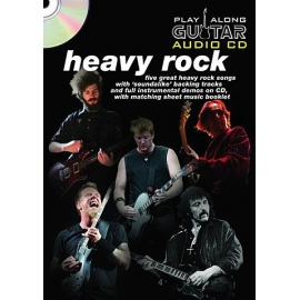 Play Along Guitar Audio CD Heavy Rock