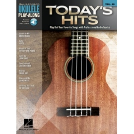 Ukulele Play-Along: Todays Hits Vol. 40