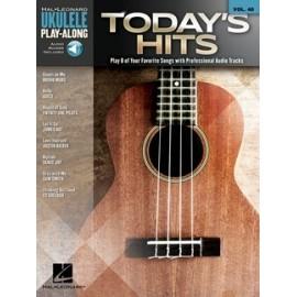 Ukulele Play-Along: Todays Hits Vol. 40